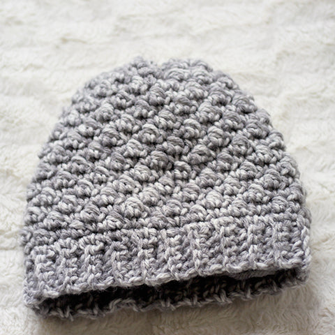 Emily Beanie PDF Crochet Pattern - Digital Download