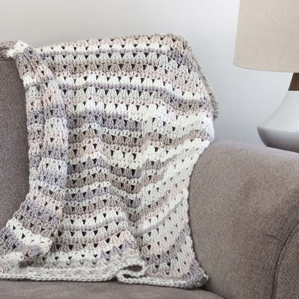 Alissa Throw Blanket PDF Crochet Pattern - Digital Download