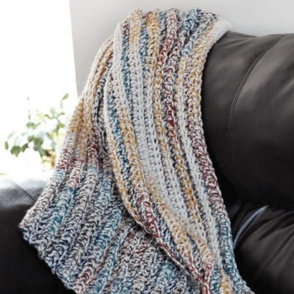 Chunky Crochet Blanket Pdf Crochet Pattern In 5 Sizes
