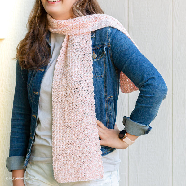 Crochet Griddle Scarf PDF Crochet Pattern - Digital Download