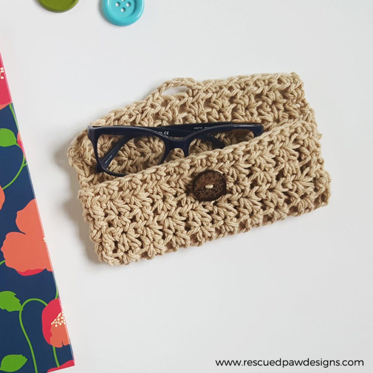 Glasses Case PDF Crochet Pattern - Digital Download