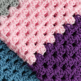 Modern Granny Baby Blanket PDF Crochet Pattern - Digital Download