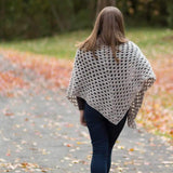 Granny Shawl PDF Crochet Pattern - Digital Download