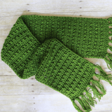 Crochet Fall Scarf PDF Crochet Pattern - Digital Download