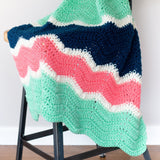 Clara Blanket PDF Crochet Pattern in Seven Sizes - Digital Download