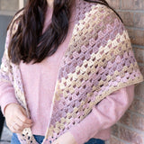Spring Shawl PDF Crochet Pattern - Digital Download