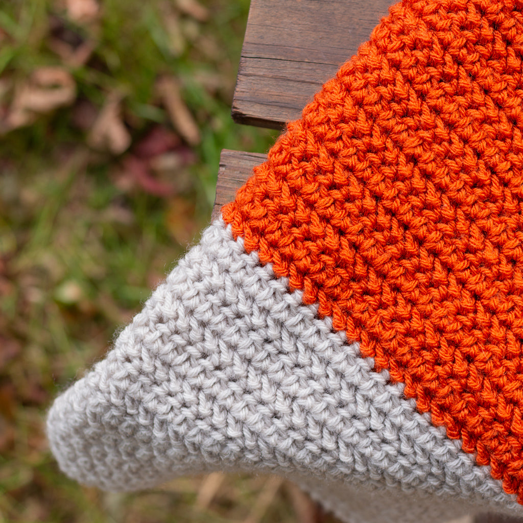 Fall HHDC Blanket PDF Crochet Pattern - Digital Download