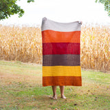 Fall HHDC Blanket  PDF Crochet Pattern - Five Sizes - Digital Download