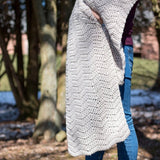 Isle Wave Wrap Scarf PDF Crochet Pattern - Digital Download