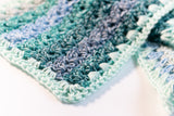 Crochet Ombre Scarf PDF Crochet Pattern - Digital Download