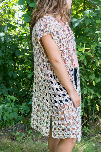 Mara Kimono PDF Crochet Pattern - Digital Download
