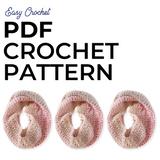 Ombre Cowl PDF Crochet Pattern - Digital Download