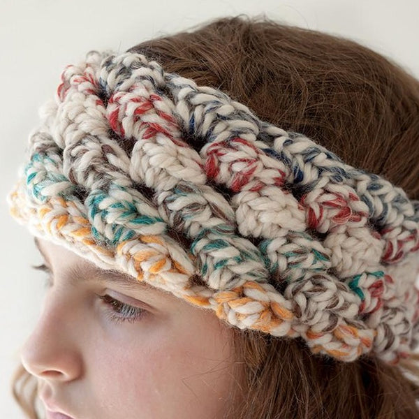 Puffed Headband PDF Crochet Pattern - Digital Download