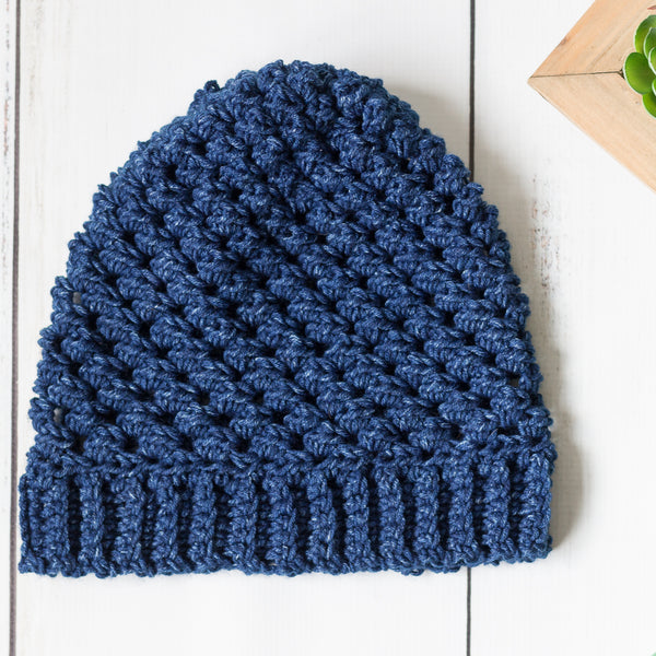 Leigh Hat PDF Crochet Pattern - Digital Download