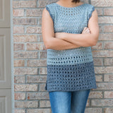 Olivia Crochet Top PDF Crochet Pattern - Six Sizes - Digital Download