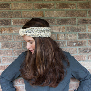 Snowy Earwarmer PDF Crochet Pattern - Digital Download