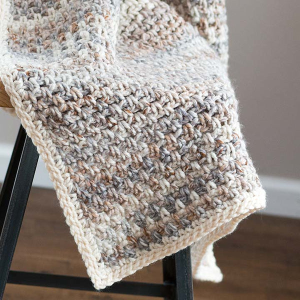 Jane Throw Blanket PDF Crochet Pattern - Digital Download