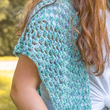 Summer Shawl PDF Crochet Pattern - Digital Download