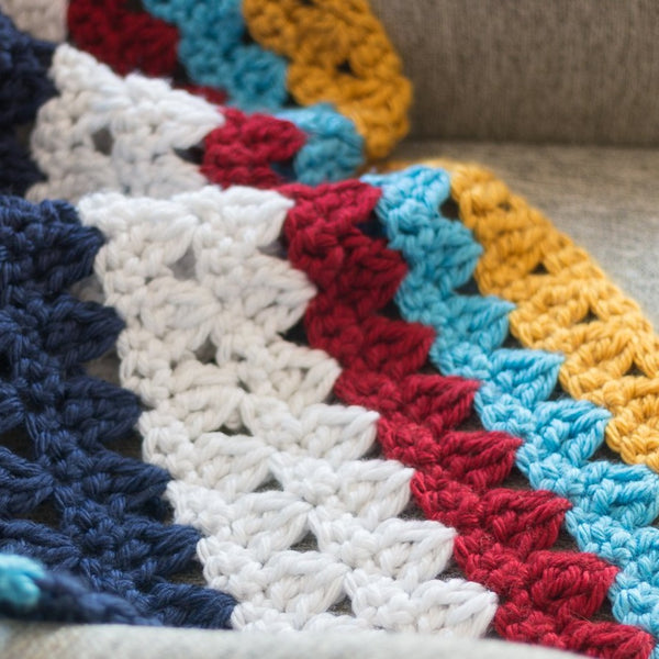 Willow Throw Blanket PDF Crochet Pattern - Digital Download
