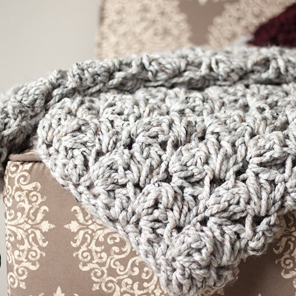 Charlotte Blanket PDF Crochet Pattern in Eight Sizes - Digital Download