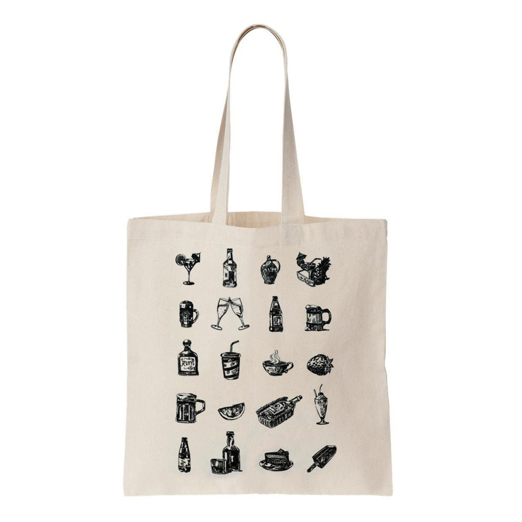 'Drunk Advice' Tote Bag