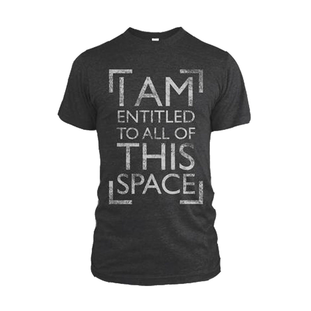 'All This Space' Black T-Shirt