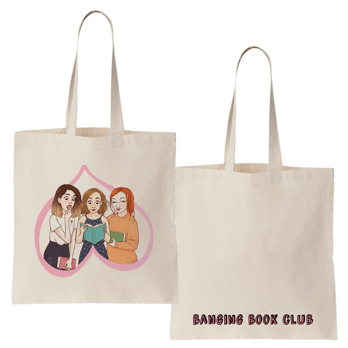 'Banging Book Club' Tote Bag