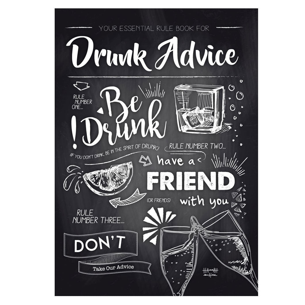 'Drunk Advice' Poster