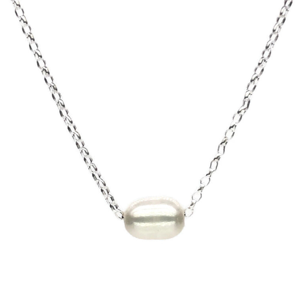 Pearl Slider Necklace