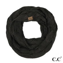 C.C Cable Knit Infinity Scarf