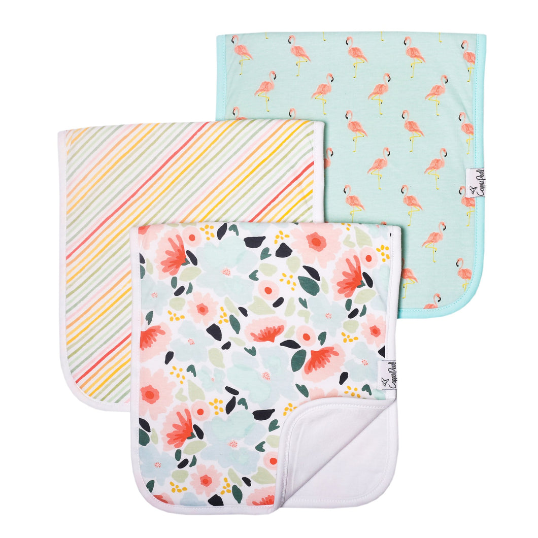 Leilani Burp Cloth Set (3-pack)