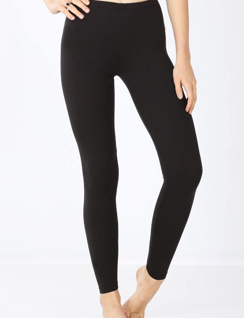 Black Buttery Soft Leggings