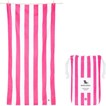 Dock and Bay XL Towel - Pink