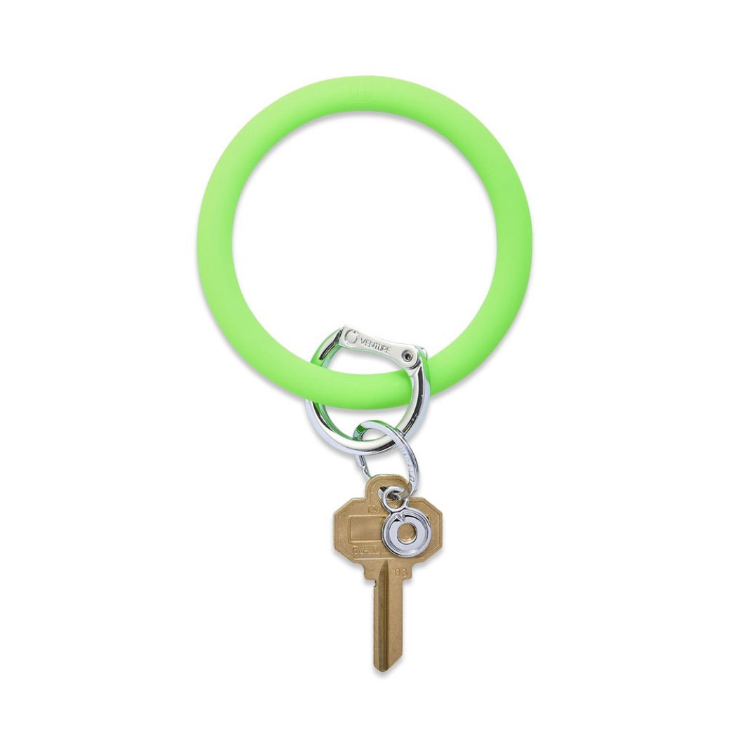 In The Grass Silicone Keyring