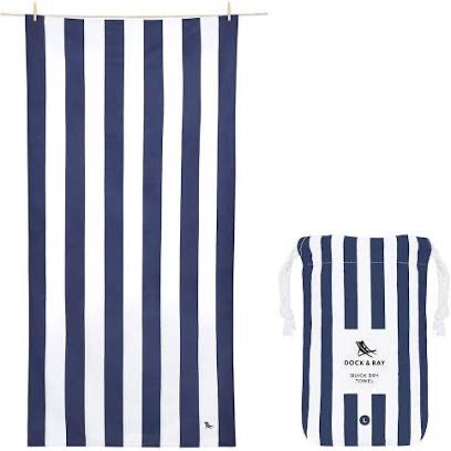 Dock and Bay XL Towel - Navy