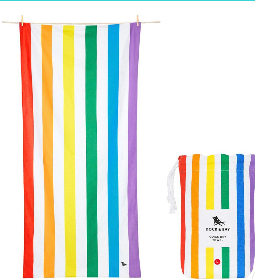 Rainbow XL Towel