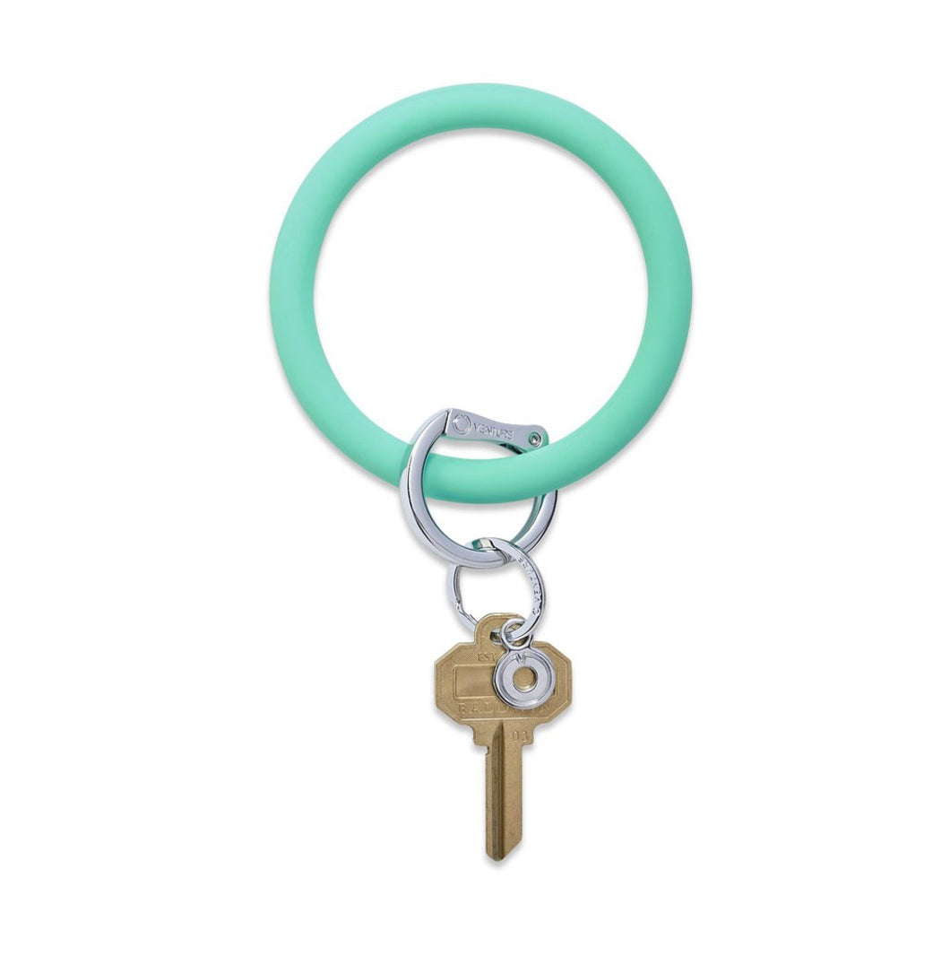 In The Pool Silicone Keyring
