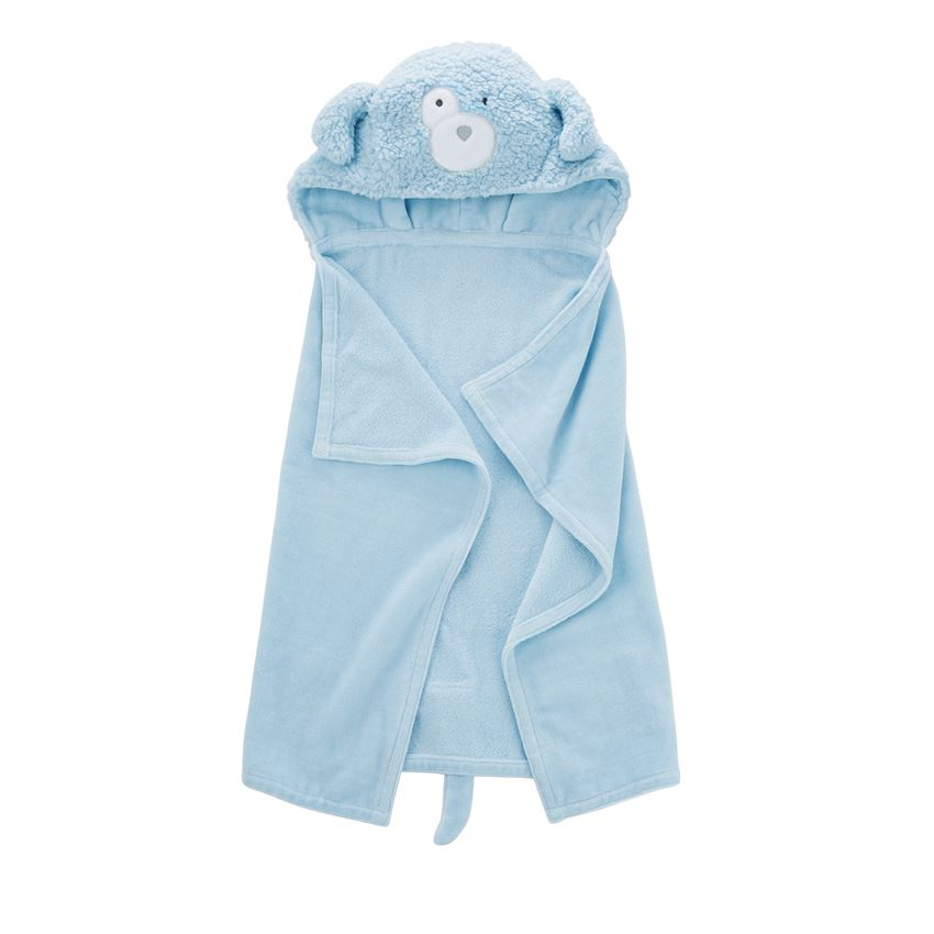 Baby Puppy Hooded Towel