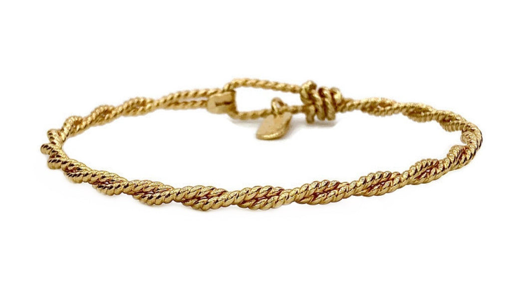 Twisted Rope Earth Grace Bracelet