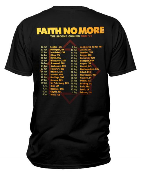 Faith No More (Second Coming Sunset Tour 09) T-Shirt