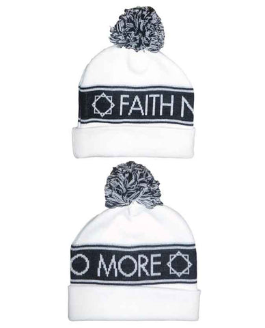 Faith No More (Logo) White Bobble Hat