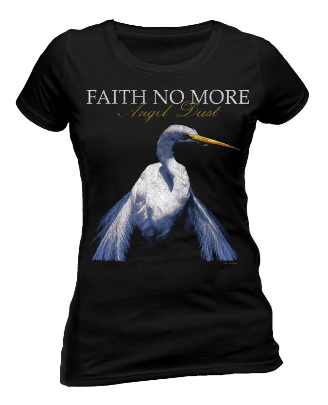 Faith No More (Angel Dust Vintage) Ladies T-Shirt