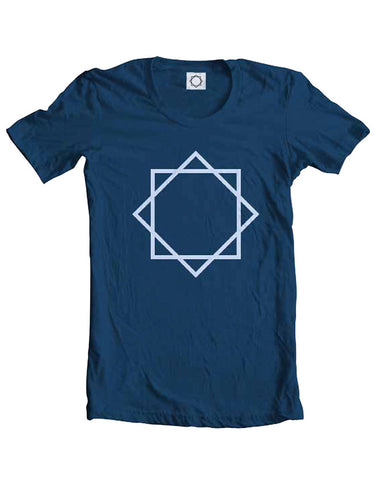 Faith No More (We Care A Lot Star) Blue T-Shirt