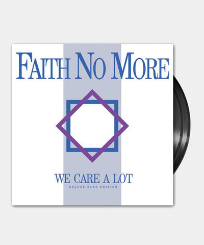 Faith No More (We Care A Lot) Deluxe Band Edition 180g Black Vinyl
