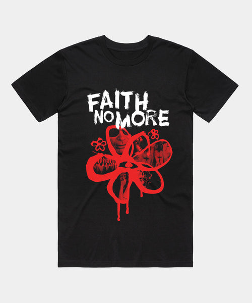 Faith No More (Flower) Mens T-Shirt
