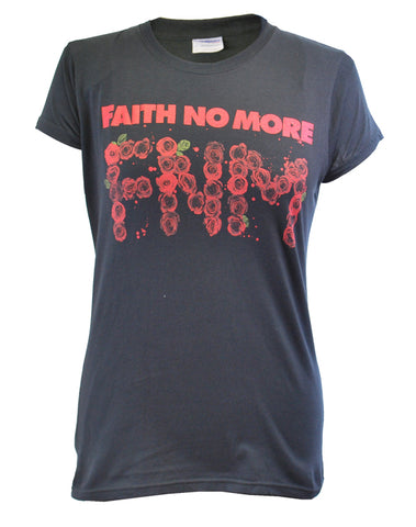 Faith No More (Roses Tour) Fitted Ladies T-Shirt