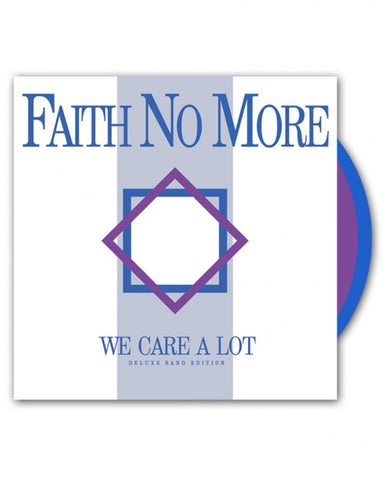 Faith No More (We Care A Lot) Deluxe Band Edition Colored 180g Double LP