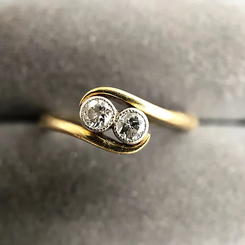 'Marley' 18ct and Platinum Diamond Ring