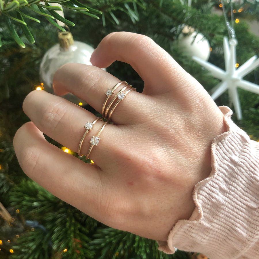 Ancienne Stacking Duo Of Rings