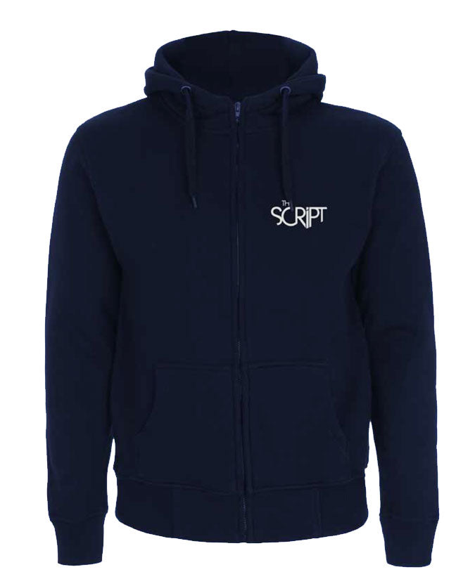 'No Sound Without Silence' Navy Ladies Hoodie